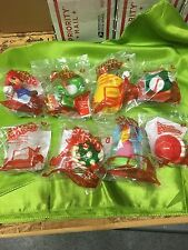 MCDONALDS SUPER MARIO SEALED TOYS SET QUICK FREE SHIPPING READY TO SHIP TODAY