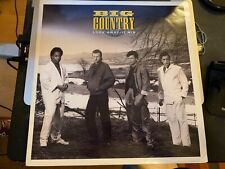 """Big Country – Look Away (12"""" Mix) 1986 first press vg+"""