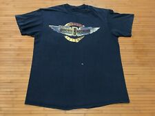New listing Large - Vtg 1989 Doobie Brothers Cycles Tour 80s Faded Cotton T-shirt