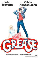 "Grease Paramount 1978 Movie Poster Replica 13x19"" Photo Print"