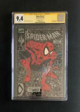 AMAZING SPIDER-MAN #1 CGC 9.4 SS SIGNED STAN LEE SILVER EDITION POLY BAGGED 300