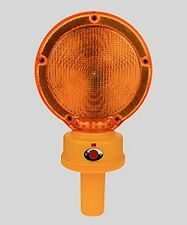 BL2LHD  AMBER Barricade Light w/ Photocell 3VDC  2500 Hours 2xD Polycarbonate
