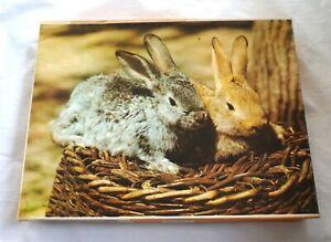 Annaberger Puzzle 300 Teile - Kaninchen - DDR Spielzeug