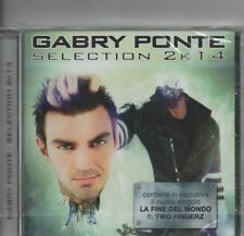 Gabry Ponte Selection 2k14 CD 20 Tracks 2014 Sony Music Italy Free Shipping