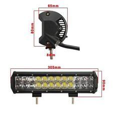 12inch 120W 4D Spot Flood Combo Beam LED Light Bar  Lamp Offroad  4X4