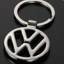 Metal Keyring Double Side Car Logo Hollow Out Key Chains Holder fit for VW