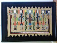 "Navajo Wool Yei Corn Pictorial Rug from the Heard Museum 23"" X 34"""
