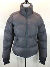#BC Lululemon Sz 8 M Gray Goose Down Puffer Jacket