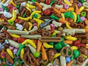 x25 random Lego Food pcs GROCERY Food Minifigure Friends Pets Moc House Fridge