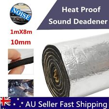 1M x 8M 10mm Closed Cell Foam Car Auto Sound Deadener Insulation Noise Proofing