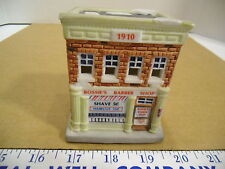 Christmas 1994 American Landmarks Collection Bossie's Barber Shop Building EUC