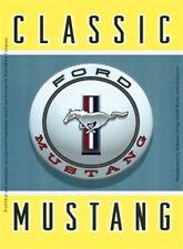 Classic Mustang Ford Mustang Blechschild 8x11 cm Blechkarte Sign PC-201/435