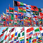 HOT 3'x5' FT World Country National Polyester USA Canada UK Germany France Flags