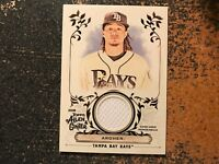 """Chris Archer Rays 2018 Topps Allen & Ginter Full Size Relic """"A"""" JERSEY"""