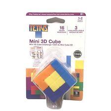 Tetris 3D Puzzle Mini Cube 16 Pieces Masterpieces Puzzles Co.