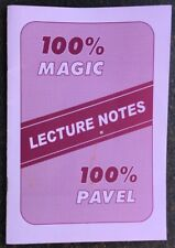 Vintage 100% Magic Pavel Lecture Notes Innovative Pictorial Memory Aid