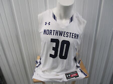 UNDER ARMOUR NORTHWESTERN WILDCATS LARGE AUTHENTIC BASKETBALL JERSEY NEW W/ TAGS