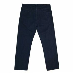 Gant Mens Jeans Size 34 Regular Straight Soft Twill Jean Charcoal Grey