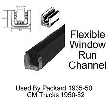 1950 - 1962 Chevy GMC Truck Window Run Channel Pair