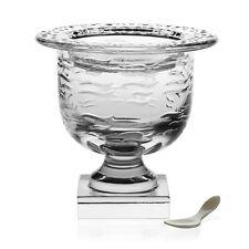WILLIAM YEOWARD Marietta Crystal Caviar Server W/ Spoon