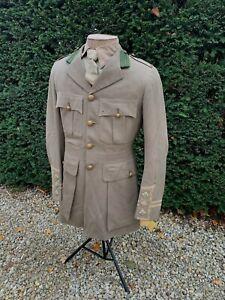 Rare Stunning Original WW1 British Canadian Intelligence Corps Cuff Rank tunic