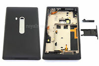 New Black Full Housing Cover Case With SIM Tray and USB Door For NOKIA N9 N9-00