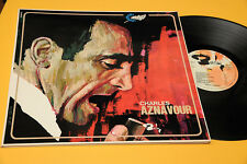 CHARLES AZNAVOUR LP SAME ORIG '60 EX GATEFOLD LAMINATED COVER TOP COLLECTORS
