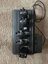 Lot 5 Motorola Xts3000 800 Digital P25 And Bank Charger