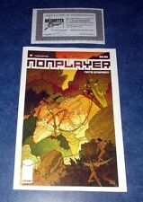 NONPLAYER #1 signed variant 3rd print iMAGE COMIC NATE SIMPSON 2015 COA awesome