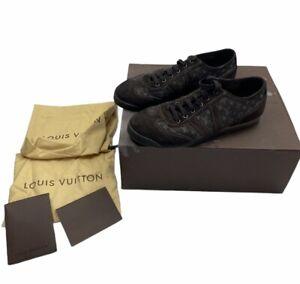 Louis Vuitton Brown Canvas Shoes   UK9