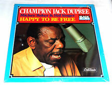 Champion Jack Dupree: Happy to be Free  [Still-Sealed Copy]