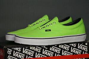 VANS Era Neon Green Unisex Eu 42 UK 8 Classic VN0VHQA06
