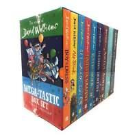 The World of David Walliams Mega-tastic 9 Books Box Set Collection Mr Stink NEW
