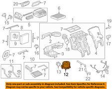 GM OEM-Blower Motor 22954786