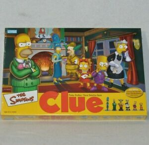2002 The Simpsons Clue Board Game Replacement Pieces MANY SEALED 0719!!!