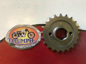 57-1919  triumph unit 650 gearbox sprocket 21T
