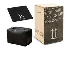 Schlagwerk Cajon 2inOne CP-404 Black large inkl. Tasche & Sitzpad