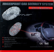 Fingerprint Biometric Car Security System alarm auto-start HIGH QUALITY EUROPEAN