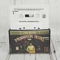THE DOORS MORRISON HOTEL cassette 1970 elektra cassette HTF TC-55007