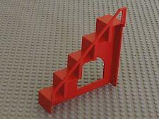 RARE Escalier LEGO Fabuland red Staircase ref x665 / Set  350 132 140 & 341