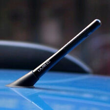 "4.7"" Universal Car Antenna Carbon Fiber Radio FM Antena Screw Accessories Kit"