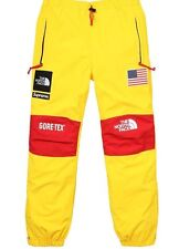 Supreme X The North Face Trans Antarctica Expedition Yellow Pants SS17 Sz:Medium