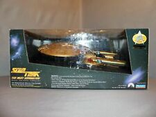 Playmates Star Trek Next Generation Limited 7th Anniversary Gold Enterprise D