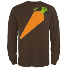 Halloween Vegetable Carrot Costume Mens Long Sleeve T Shirt