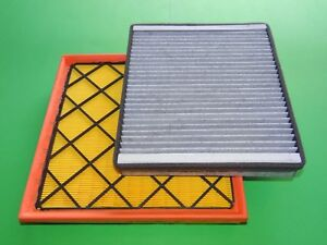 Luftfilter + Aktivkohle Pollenfilter Chevrolet Cruze 1.4 Benziner 1.7 2.0 Diesel