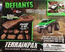 Defiants Terrainpax  9 piece Transforming Trail Playset NIB