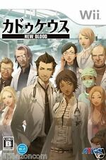 Used Wii Caduceus: New Blood / Trauma  Sports JAPAN JP JAPANESE JAPONAIS IMPORT