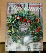 Country Living Christmas Magazine 2020 Decorating Crafts Food Homes Artisans