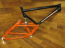 "NOS VINTAGE SCHWINN HOMEGROWN SWEET SPOT FULL SUSPENSION 26"" FRAME 19"" FOX ALPS"