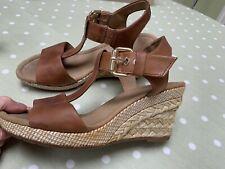 Gabor Karen Wedge Sandals Peanut Size UK 5.5